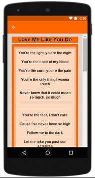 Ellie Goulding Complete Letras apk screenshot