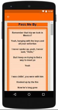 R5 Complete Lyrics screenshot 6