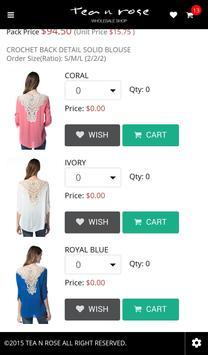 Tea n Rose Wholesale apk screenshot