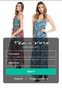 Tea n Rose Wholesale poster