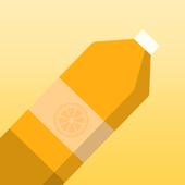 Orange Skin for Bottle Flip icon