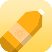 Orange Skin for Bottle Flip icon