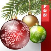 Ornamental Christmas icon