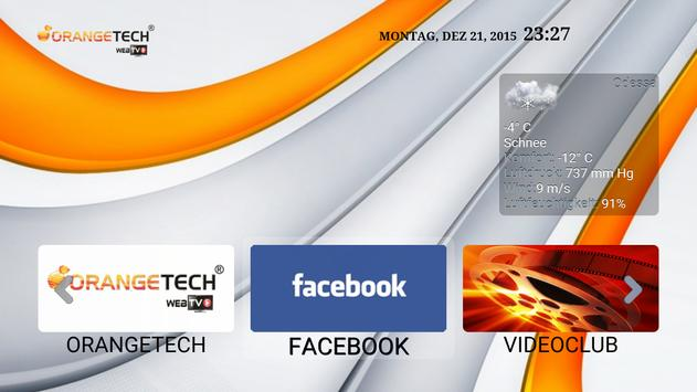 OrangeTech WebTV IPTV HD apk screenshot