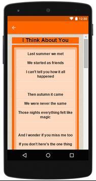 Ross Lynch Top 20 Lyrics apk screenshot