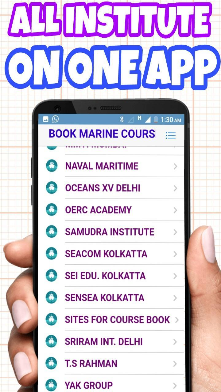 Book marine courses(merchant navy) for Android - APK Download