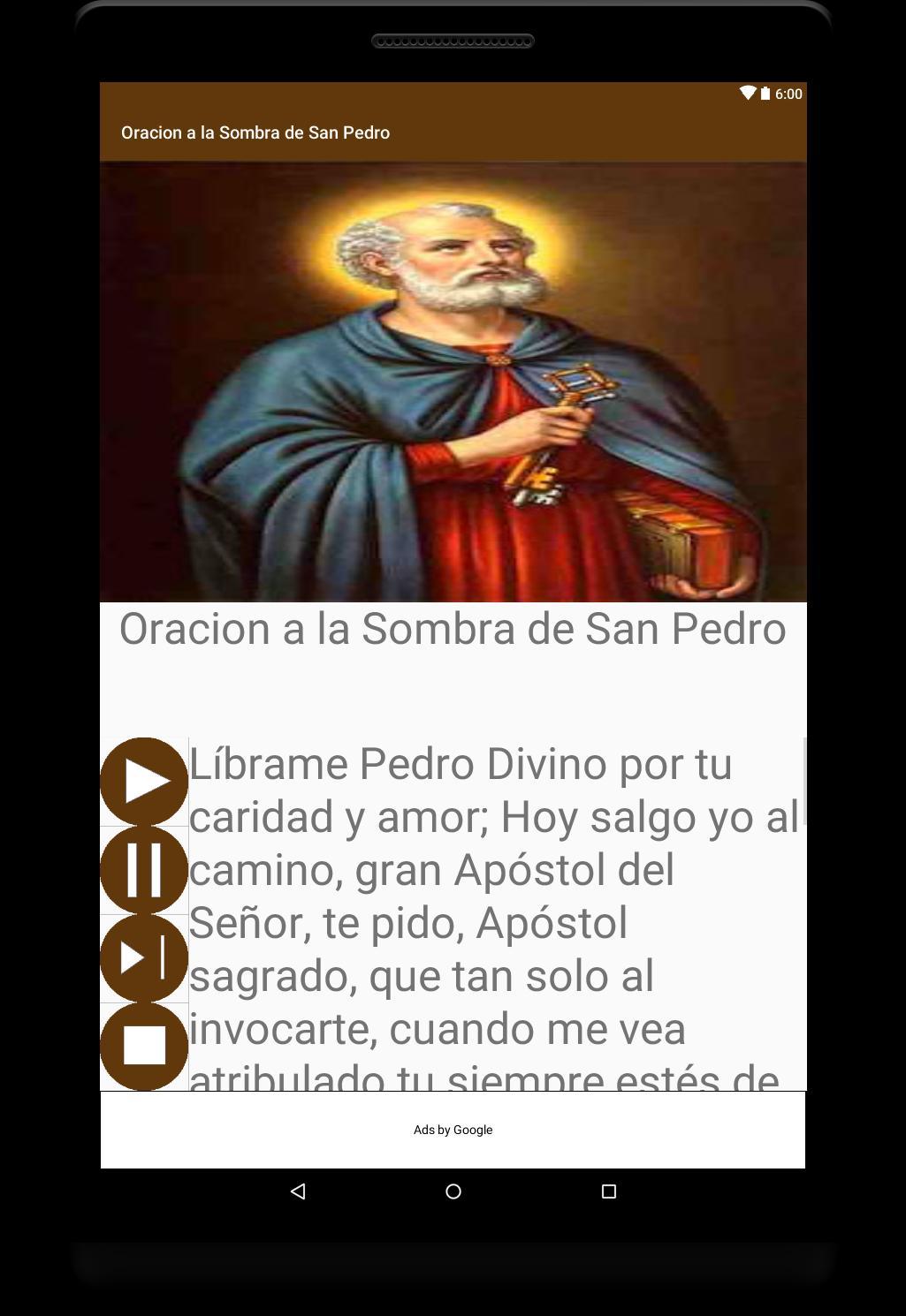 Oracion a Sombra de San Pedro for Android - APK Download