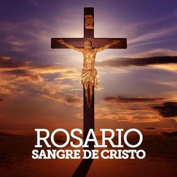 Oración de la sangre de cristo poster
