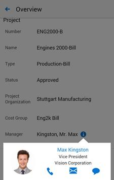 Project Manufacturing for EBS screenshot 4