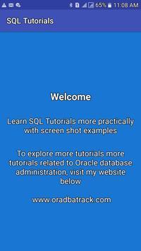 SQL Tutorials poster