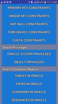 SQL Tutorials screenshot 1