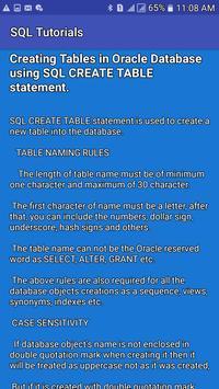 SQL Tutorials screenshot 2