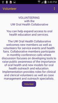 UW Oral Health Collaborative (Unreleased) apk screenshot