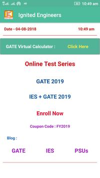GATE Calculator 2019 - By IIT Madras poster