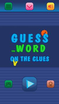 Guess the word for clues poster