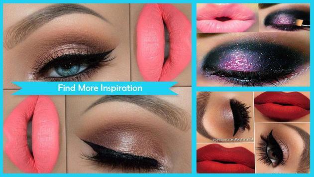 Easy Quinceanera Lips Makeup screenshot 1