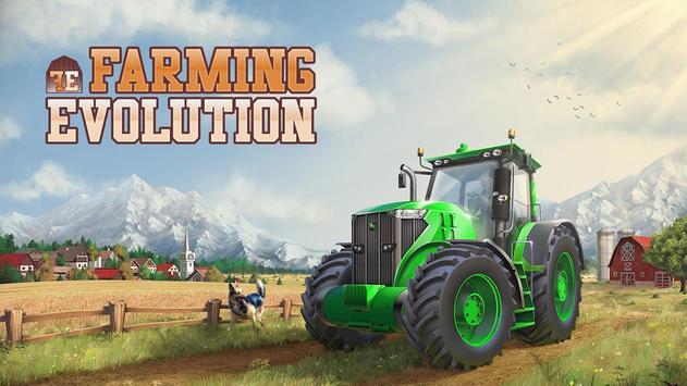 Farming Evolution - Tractor poster