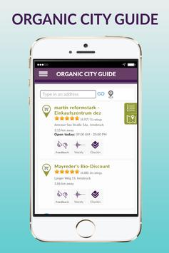 Organic City Guide screenshot 1