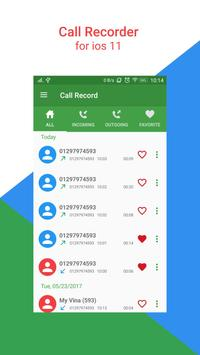 Call Recorder For iPhone 8 poster