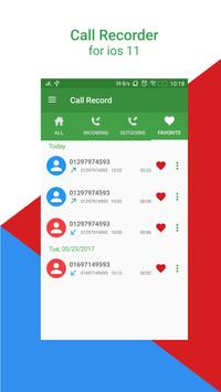 Call Recorder For iPhone 8 screenshot 2