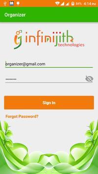 InfiniJith Agri Organizer poster