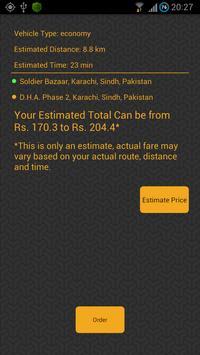 Taxi Pakistan screenshot 1