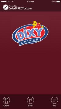 Dixy Chicken, Coventry poster