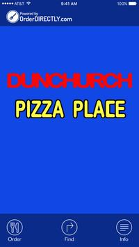 Dunchurch Pizza Place poster