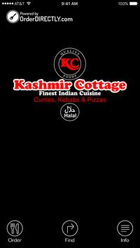 Kashmir Cottage, Cumbernauld poster