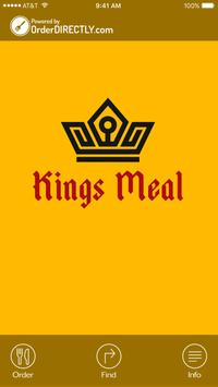 Kings Meal, Eastham poster
