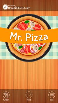 Mr Pizza, Leigh poster