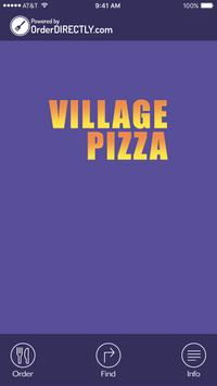 Village Pizza poster