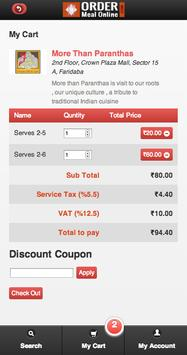 Order Meal Online screenshot 3