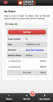 Order Meal Online screenshot 5