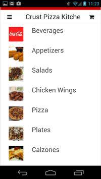 Crust Pizza Kitchen apk screenshot