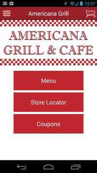 Americana Grill & Cafe poster