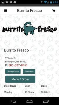 Burrito Fresco poster