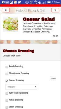 Hideout Pizza & Grill screenshot 2