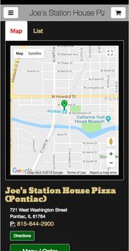 Joe's Station House Pizza screenshot 4