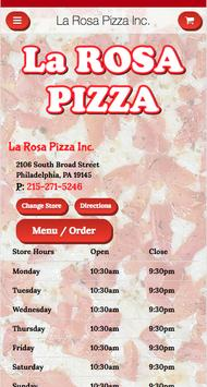La Rosa Pizza Inc. poster