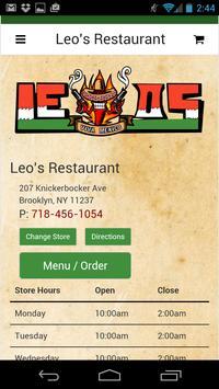 Leo's Restaurant poster