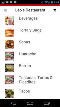 Leo's Restaurant apk screenshot