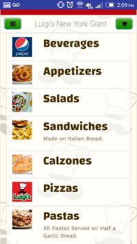 Luigi's New York Giant Pizza screenshot 1