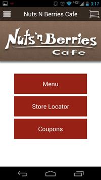 Nuts N Berries Cafe poster