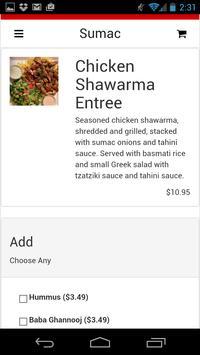 Sumac Taste of Mediterranean apk screenshot