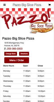 Pazzo Big Slice Pizza poster