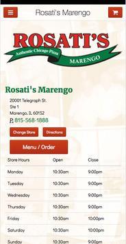 Rosati's Marengo poster