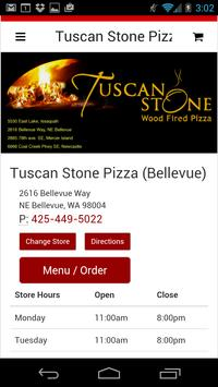 Tuscan Stone Pizza poster