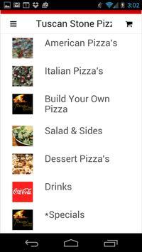 Tuscan Stone Pizza apk screenshot