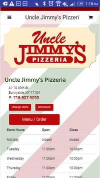 Uncle Jimmy's Pizzeria poster
